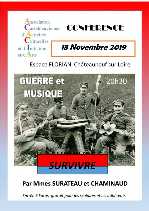 Guerre et musique 2019